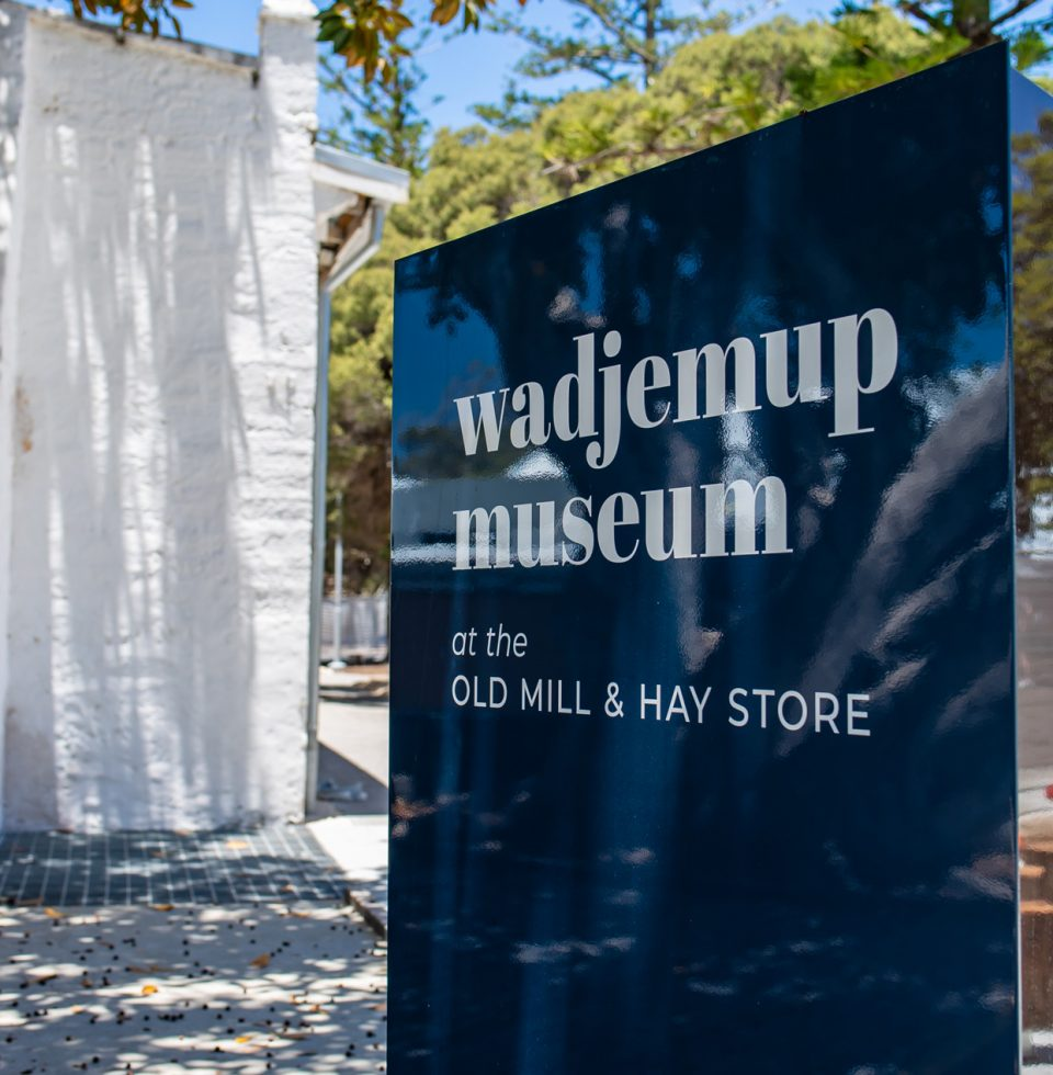 Wardjemup Museum Sign