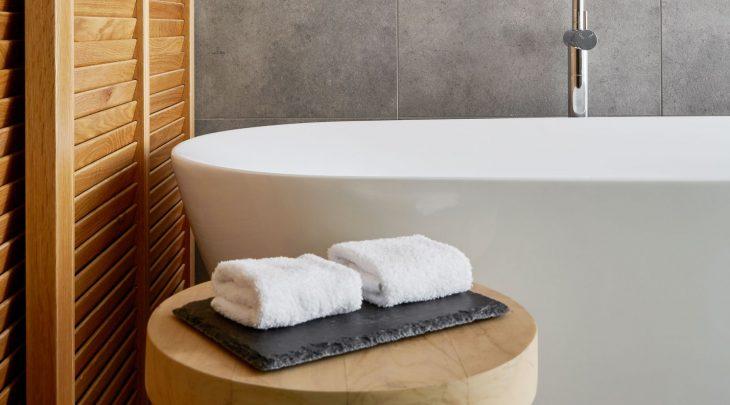 Bathroom at Samphire